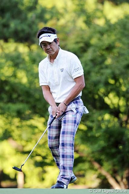 2011年 アジアパシフィックオープンゴルフチャンピオンシップパナソニックオープン 2日目 藤田寛之 マジで強い。難コースで連日の69やもん!今や最強のアラフォープロとちゃう?6位T