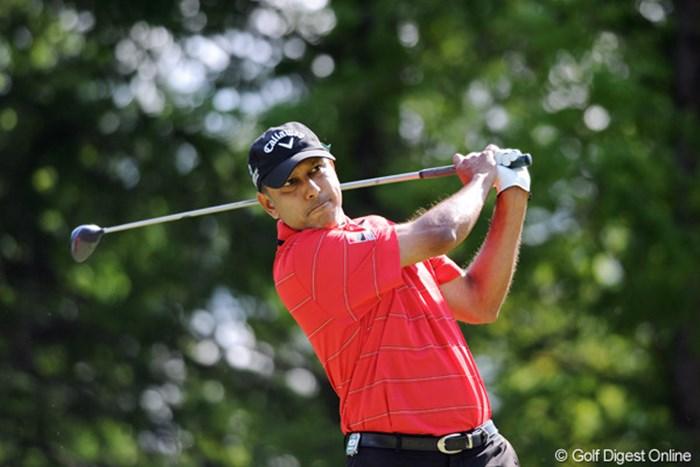 久しぶりに見たら人相が温和な方に変わってました。元祖インド人プロなんで、ターバンのシンちゃんは彼の影響でゴルフ始めたんやろねェ。8位T 2011年 アジアパシフィックオープンゴルフチャンピオンシップパナソニックオープン 2日目 ジーブ・ミルカ・シン