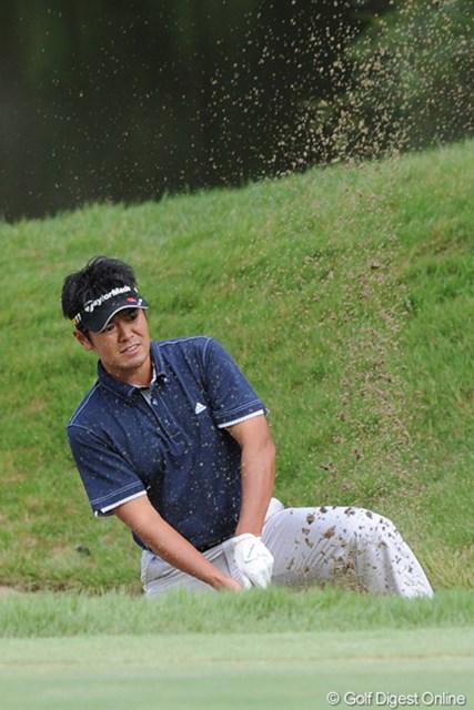 2011年 アジアパシフィックオープンゴルフチャンピオンシップパナソニックオープン 2日目 武藤俊憲 昨日からワタクシが撮るホールに限ってボギーなんやけど・・・。なんか悪うてなァ。明日はスルーしよ~っと。8位T