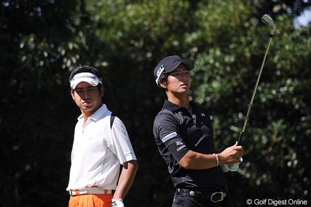 石川遼は「73」、池田勇太は「72」。いずれもチャージならず両雄の対決は痛み分けに