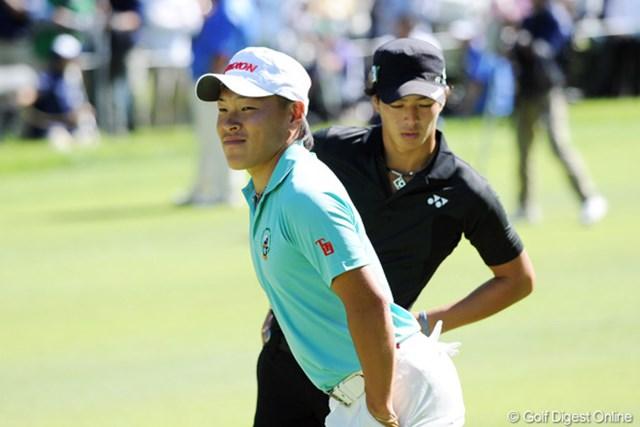 2011年 アジアパシフィックオープンゴルフチャンピオンシップパナソニックオープン 3日目 藤本佳則 東北福祉大のキャプテン藤本佳則は難コースで安定感を披露し続けている