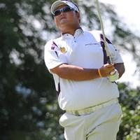 タイ人トップタイ(!)は全体の6位タイってなんじゃそら。ケンカは間違いなくハン・リーと互角。つまりアジア最強と言えるでしょう・・・って外見だけで判断するなよ~! 2011年 アジアパシフィックオープンゴルフチャンピオンシップパナソニックオープン 3日目 プロム・ミーサワット