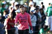 2011年 ミヤギテレビ杯ダンロップ女子オープンゴルフトーナメント 2日目 横峯さくら