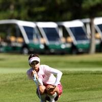 2アンダー13位タイと健闘 2011年 ミヤギテレビ杯ダンロップ女子オープンゴルフトーナメント 2日目 菊地明砂美