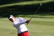 2011年 ミヤギテレビ杯ダンロップ女子オープンゴルフトーナメント 2日目 大山志保