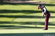 2011年 ミヤギテレビ杯ダンロップ女子オープンゴルフトーナメント 2日目 有村智恵