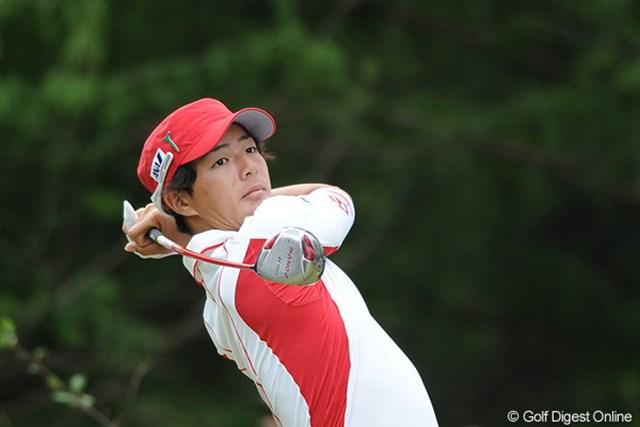 石川遼はドライバーショットの乱れから、4日間を通じてリズムをつかむことができなかった