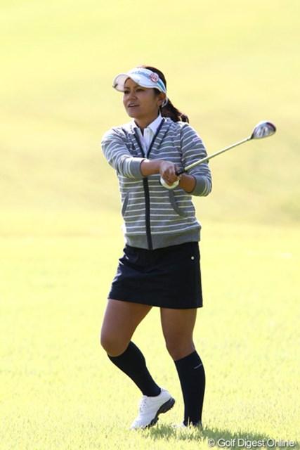 2011年 ミヤギテレビ杯ダンロップ女子オープンゴルフトーナメント 最終日 宮里藍 予選通過を果たし3日間戦ったのが何より。被災地支援への想いも強くした宮里藍