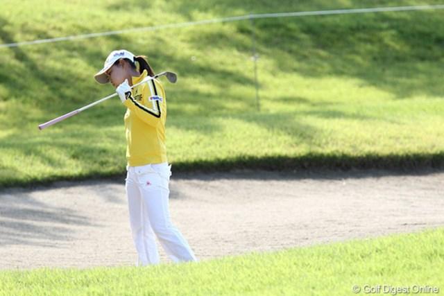 2011年 ミヤギテレビ杯ダンロップ女子オープンゴルフトーナメント 最終日 横峯さくら 23位でフィニッシュ「来週に向けて調整します」
