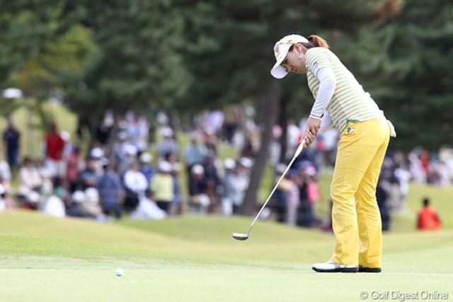 2011年 ミヤギテレビ杯ダンロップ女子オープンゴルフトーナメント 最終日 宮里美香 調子がいまひとつ?6位タイフィニッシュ