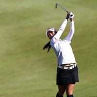アイアンは方向性も距離感も日に日に良くなってるそうです 2011年 ミヤギテレビ杯ダンロップ女子オープンゴルフトーナメント 最終日 宮里藍