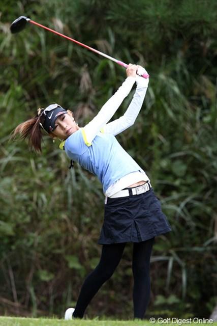 2011年 ミヤギテレビ杯ダンロップ女子オープンゴルフトーナメント 最終日 金田久美子 調子は上昇中