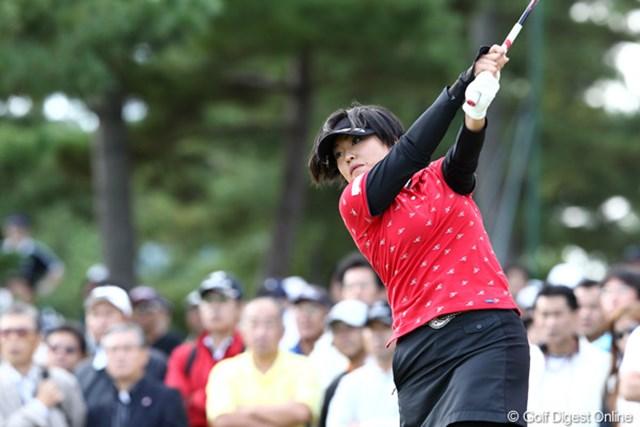 2011年 ミヤギテレビ杯ダンロップ女子オープンゴルフトーナメント 最終日 恒川智会 終わってみれば4位タイ、「ゴルフって本当に難しい」