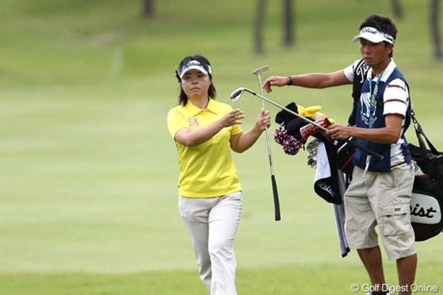 2011年 ミヤギテレビ杯ダンロップ女子オープンゴルフトーナメント 最終日 不動裕理 スコアを伸ばしきれず