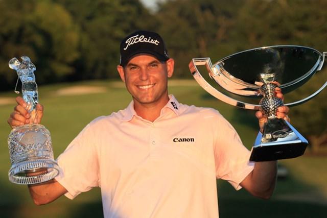 2011年 ザ・ツアー選手権 最終日 ビル・ハース 最終戦で優勝したビル・ハースが「FedEx Cup」も大逆転で掴んだ(Sam Greenwood/Getty Images)