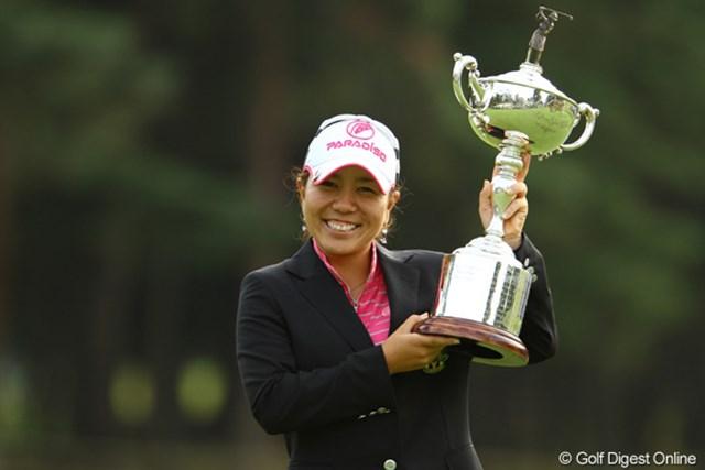 昨年、国内メジャー初制覇を果たした宮里美香