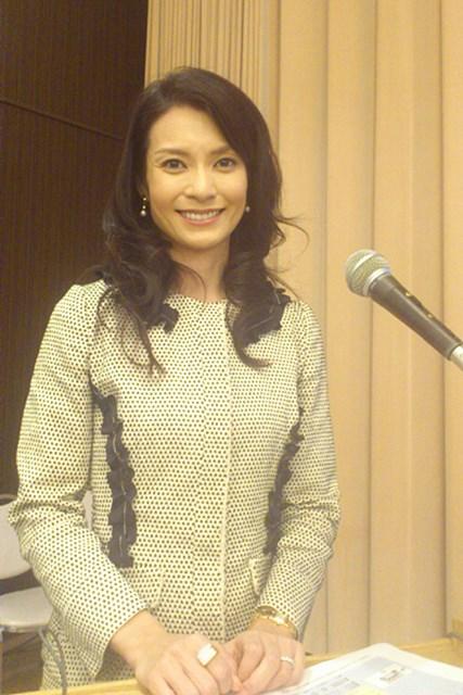 2011年 ホットニュース 千野志麻 進行役を務めたのは大会アンバサダーでもある千野志麻さん