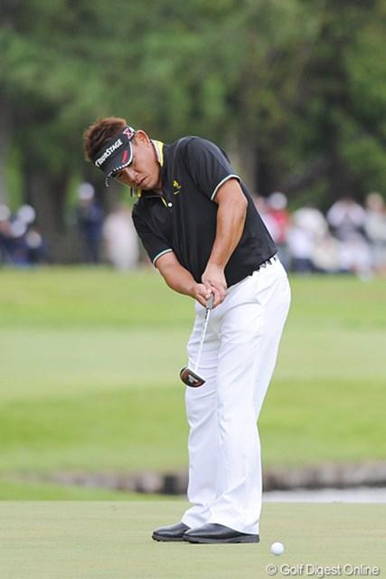 2011年 アジアパシフィックオープンゴルフチャンピオンシップ パナソニックオープン 平塚哲二 およそ2年半ぶりとなるツアー通算6勝目を獲得した平塚哲二