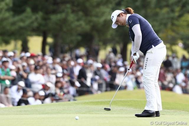 2011年 ミヤギテレビ杯ダンロップ女子オープン フォン・シャンシャン 今季日本ツアー6戦にして2勝目を挙げたフォン・シャンシャン