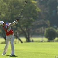 さすがは全米女子オープンチャンピオン!安定したゴルフで2オーバー10位タイ。 2011年 日本女子オープンゴルフ選手権競技 初日 チ・ウンヒ