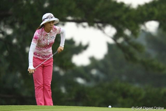 2011年 日本女子オープンゴルフ選手権競技 2日目 ヤング・キム 米ツアー優勝経験のある実力者、ヤング・キムが2位タイに浮上した