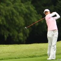 本日ベストスコアの68でラウンド。4位タイに急上昇です。 2011年 日本女子オープンゴルフ選手権競技 2日目 イ・ジウ