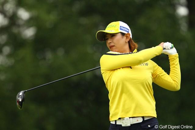 2011年 日本女子オープンゴルフ選手権競技 2日目 横峯瑠依 妹に負けじと、お姉ちゃんもがんばりました。トータル11オーバー40位タイで予選通過です。