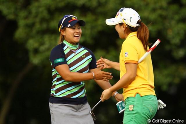 2011年 日本女子オープンゴルフ選手権競技 3日目 馬場ゆかり 通算6オーバーで単独首位に浮上した馬場ゆかり。自身初のメジャー制覇に王手をかけた