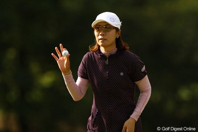 2011年 日本女子オープンゴルフ選手権競技 3日目 李知姫 2008年の日本女子オープンチャンピオンが、2度目の制覇を狙います。ショットが安定してるのでチャンスありです。首位と2打差2位タイ。