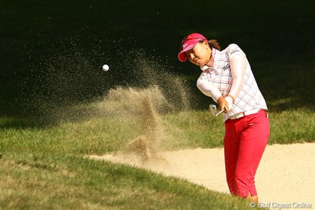 2011年 日本女子オープンゴルフ選手権競技 3日目 上原美希 最終日、自身のベストフィニッシュを更新できるか・・・。11オーバー7位タイ。