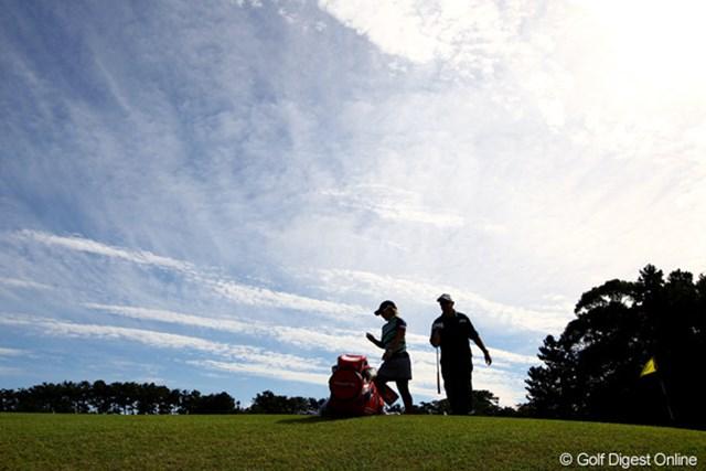 2011年 日本女子オープンゴルフ選手権競技 3日目 馬場ゆかり 和合もすっかり秋の空と風です。