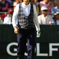 クラシカルなスタイルがオシャレなのでアップしました。ちなみにパターもクラシカルにキャッシュイン。27オーバー60位タイ。 2011年 日本女子オープンゴルフ選手権競技 3日目 足立由美佳