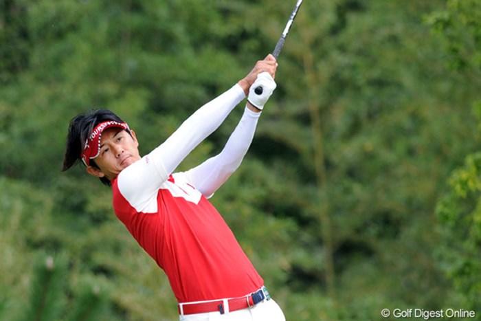 ショットが好調の近藤共弘は決勝2ラウンドでスコアを伸ばし3位タイ 2011年 コカ・コーラ東海クラシック 最終日 近藤智弘