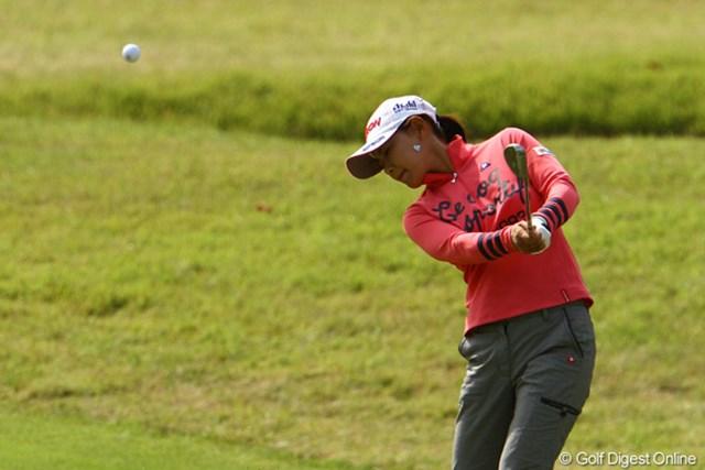 2011年 日本女子オープンゴルフ選手権競技 最終日 横峯さくら 今週の自身ベストスコアとなる「71」で回り、9位タイに浮上して終えた横峯さくら