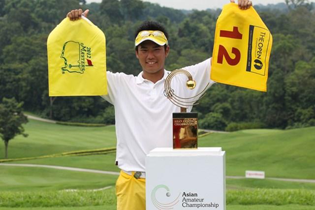 松山英樹/アジアアマチュア選手権 ディフェンディングのプレッシャーに負けず、2年連続優勝を果たした松山英樹