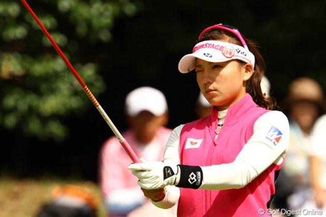 2011年 日本女子オープンゴルフ選手権競技 最終日 有村智恵 有村智恵は11位タイでフィニッシュ。すがすがしい表情で過酷な4日間を振り返った