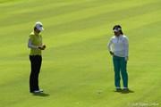 2011年 日本女子オープンゴルフ選手権競技 最終日 全美貞と不動裕理