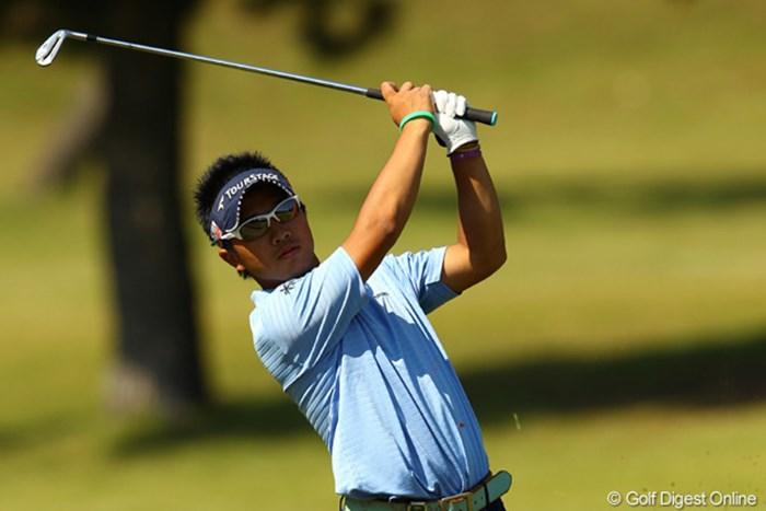 気持ちを切り替え、伊藤誠道は次週の「日本オープン」での活躍を誓う 2011年 キヤノンオープン 2日目  伊藤誠道