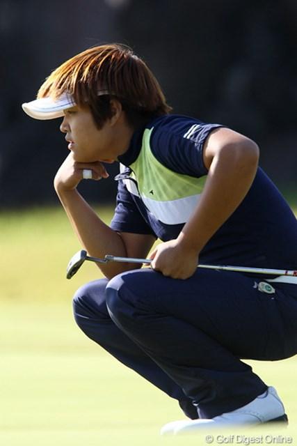 2011年 SANKYOレディースオープン 初日 野村敏京 「風は関係ありません」4アンダー初日単独トップ