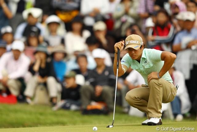 2011年 キヤノンオープン 3日目 石川遼 終盤にスコアを落とした石川遼。今季初勝利へ混戦を抜け出せるか