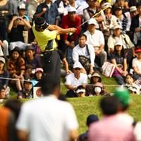 12325人のギャラリーが詰め掛けました。しかし携帯電話やカメラでの撮影など、問題点もしばしば。明日はもっと多くのギャラリーが集まりそうですが、マナーを守って楽しいゴルフ観戦を! 2011年 キヤノンオープン 3日目 小山内護