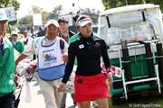 2011年 SANKYOレディースオープン 2日目 有村智恵