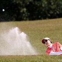 トップと3打差3位タイ「優勝より確実に上位に入ること」 2011年 SANKYOレディースオープン 2日目 辛ヒョンジュ