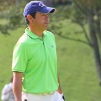 ドライバー平均飛距離は260ヤードの「堅実派」と語る冨永浩は、5位タイで最終日を迎える 2011年 皇潤カップ日本プロゴルフシニア選手権大会 3日目 冨永浩
