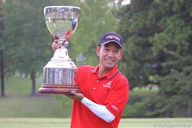 今季2勝目を挙げたキム・ジョンドク。目標はチャンピオンズツアーと更なる舞台に挑戦する