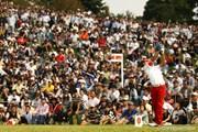 2011年 キヤノンオープン 最終日 5番Par3ティグランド