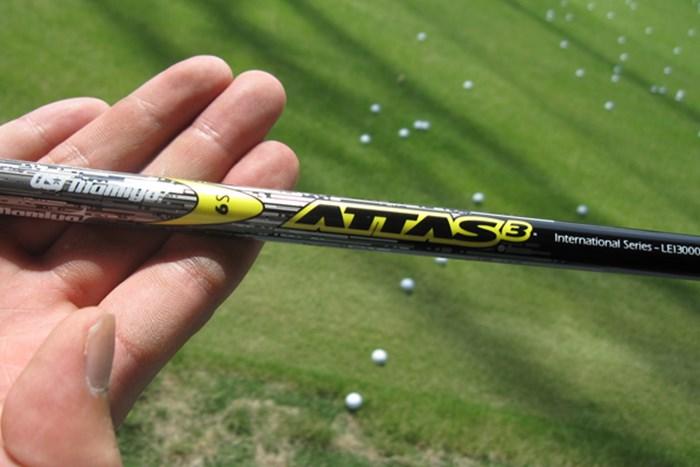 アッタス3代目「USTマミヤ ATTAS 3」を試打レポート 新製品レポート USTマミヤ ATTAS 3 シャフト NO.1
