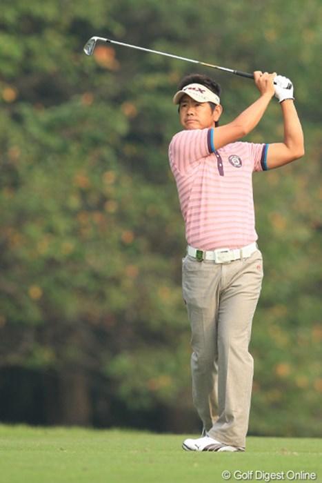 藤田寛之を支えるのは正確無比なコースマネジメント。昨年の「日本シリーズJTカップ」に続くメジャー2勝目なるか 2011年 日本オープンゴルフ選手権競技 初日  藤田寛之