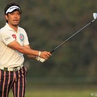 「戦略的なコースの方が相性はいい」という河瀬賢史だが、バーディを量産して好位置につけている 2011年 日本オープンゴルフ選手権競技 2日目 河瀬賢史