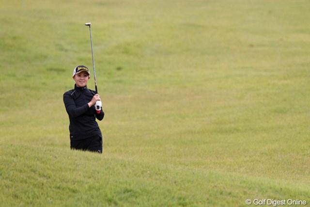 2011年 富士通レディース 2日目 古閑美保 ゴルフは楽しい?